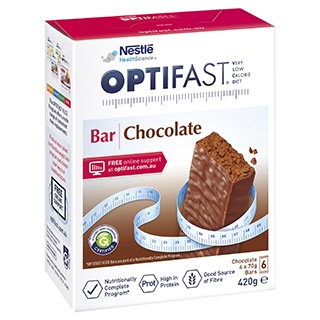 Image for Optifast VLCD Bars Chocolate - 6 Pack from Amcal