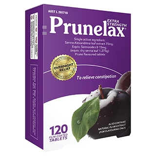 Image for Prunelax Tablets - 120 Tablets from Amcal