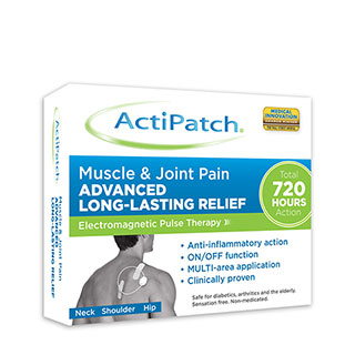 Image for ActiPatch Muscle & Joint Device from Amcal