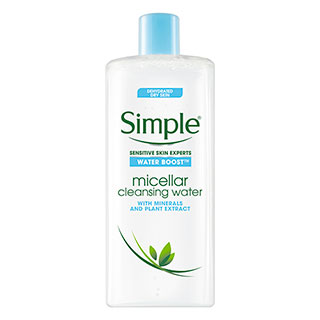 Image for Simple Water Boost Facial Cleanser Micellar Water - 400mL from Amcal