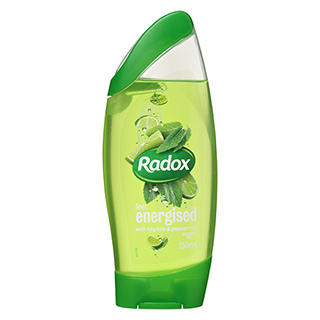 Image for Radox Feel Energised Shower Gel - 250mL from Amcal
