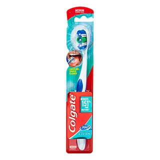 Image for Colgate 360 Degree Medium Toothbrush from Amcal