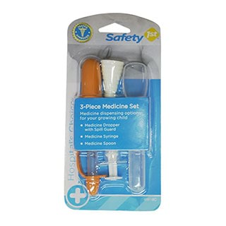 Image for Safety 1st Infant 3-Piece Medicine Set from Amcal
