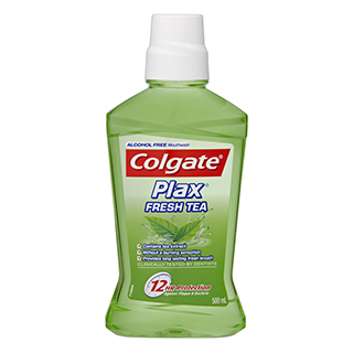 Image for Colgate Plax Mouth Wash Fresh Tea - 500mL from Amcal