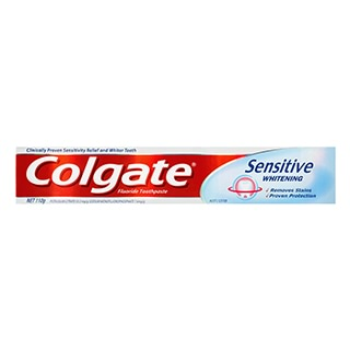 Image for Colgate Toothpaste Sensitive Whitening - 110g from Amcal