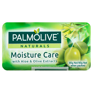 Image for Palmolive Naturals Moisture Care Aloe & Olive Soap 90g - 4 Pack from Amcal