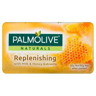 Image for Palmolive Naturals Replenishing Soap with Milk & Honey 90g - 4 Pack from Amcal