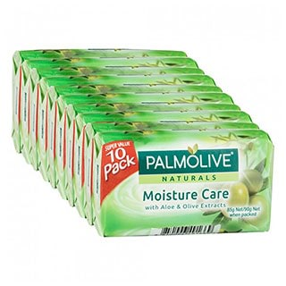 Image for Palmolive Naturals Aloe & Olive Soap Bar - 10 Pack from Amcal