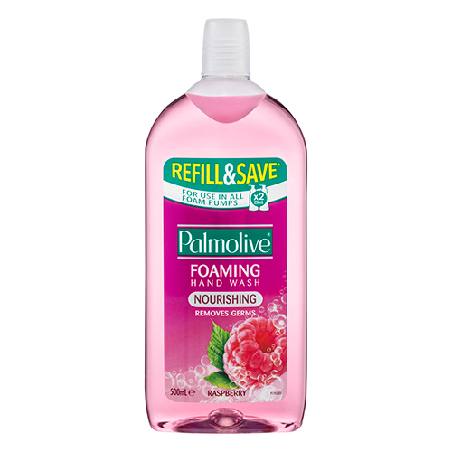 Image for Palmolive Nourishing Foaming Hand Wash Raspberry-  500mL from Amcal