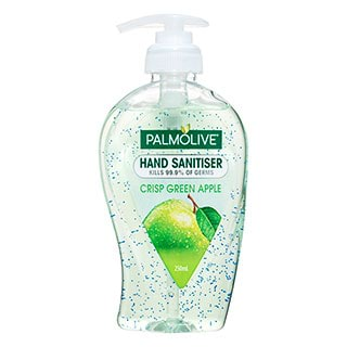 Image for Palmolive Hand Sanitiser Green Apple - 250mL from Amcal