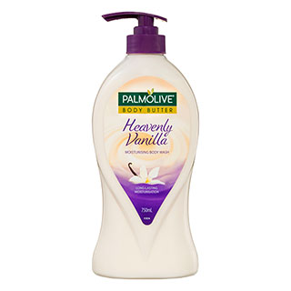Image for Palmolive Body Butter Heavenly Vanilla Moisturising Body Wash - 750ml from Amcal