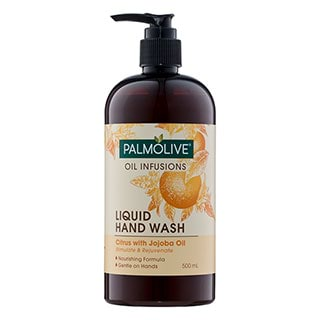 Image for Palmolive Oil Infusions Liquid Hand Wash Citrus with Jojoba Oil - 500mL from Amcal