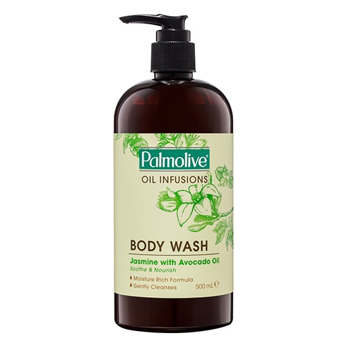 Image for Palmolive Oil Infusions Body Wash Jasmine with Avocado Oil - 500mL from Amcal