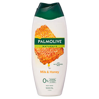 Image for Palmolive Naturals Milk & Honey Body Wash - 500mL from Amcal