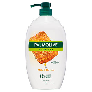 Image for Palmolive Naturals Milk & Honey Body Wash - 1L from Amcal