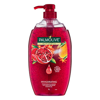 Image for Palmolive Naturals Shower Gel Pomegranate & Mango - 1L from Amcal