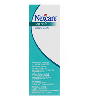 Image for Nexcare Soft Cloth Dressing Length, 8cm x 1m from Amcal
