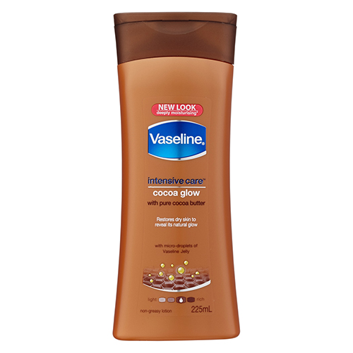 Image for Vaseline Intensive Care Cocoa Glow Body Lotion - 225mL from Amcal