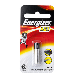 Image for Energizer Battery A27 12 V - 1 Pack from Amcal