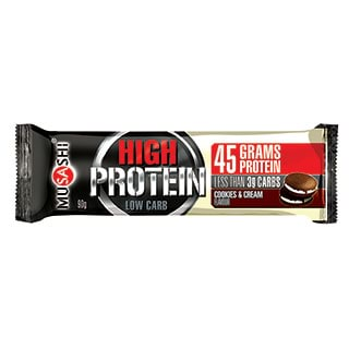 Image for Musashi P45 Cookies & Cream Bar - 90g from Amcal