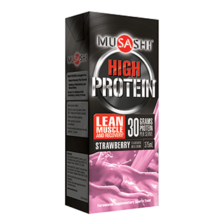 Image for Musashi P30 Strawberry - 375ml from Amcal