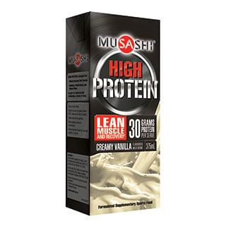 Image for Musashi P30 Creamy Vanilla - 375mL from Amcal