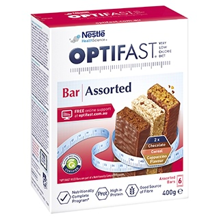 Image for Optifast VLCD Assorted Bars - 6 Pack from Amcal
