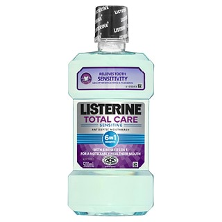 Image for Listerine Total Care Sensitive Mouthwash - 500mL from Amcal