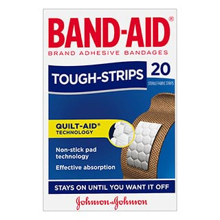 Image for Band-Aid Tough Strips Regular - 20 Pack from Amcal