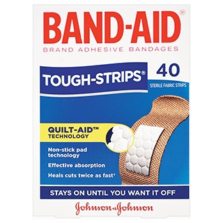Image for Band-Aid Tough Strip - 40s from Amcal