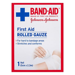 Image for Band-Aid First Aid Rolled Gauze Pads - 8 Pack from Amcal