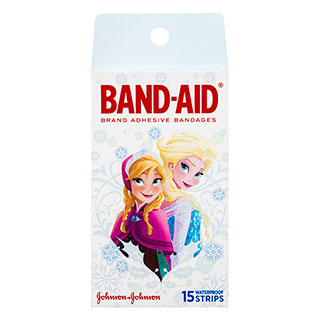 Image for Band-Aid Adhesive Bandages Disney Frozen - 15 Pack from Amcal