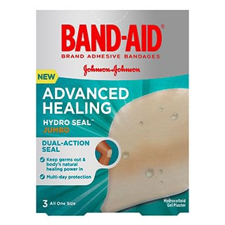Image for Band-Aid Advanced Healing Jumbo - 3 Pack from Amcal