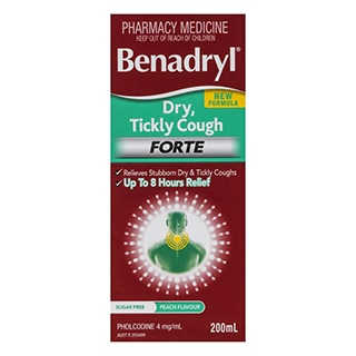 Image for Benadryl Dry Tickly Forte - 200ml from Amcal