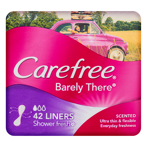 Image for Carefree Barely There Liner Scented - 42 Pack from Amcal
