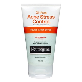 Image for Neutrogena Acne Stress Control Scrub - 125mL from Amcal
