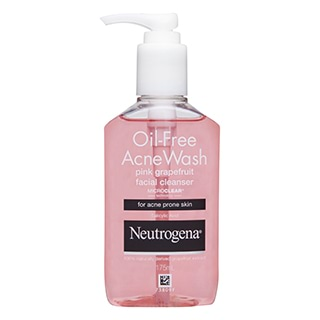 Image for Neutrogena Oil Free Acne Pink Grapefruit Cleanser - 175mL from Amcal