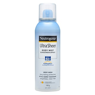 Image for Neutrogena Ultra Sheer Body Mist SPF 50+ - 140g from Amcal