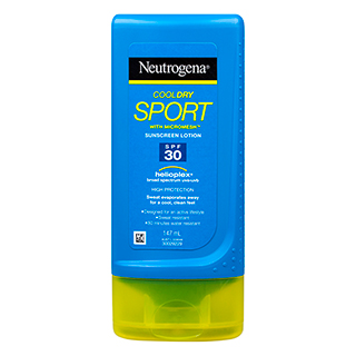 Image for Neutrogena Cool Dry Sport Sunscreen Lotion SPF30 - 147 mL from Amcal