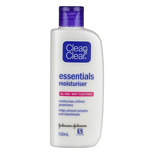 Image for Clean & Clear Essentials Moisturiser - 100mL from Amcal