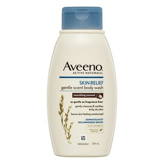 Image for Aveeno Skin Relief Gentle Scent Body Wash Nourishing Coconut - 354mL from Amcal