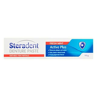 Image for Steradent Denture Paste - 115g from Amcal