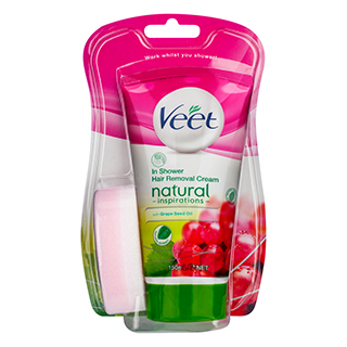 Image for Veet Naturals In Shower Hair Removal Cream - 150mL from Amcal