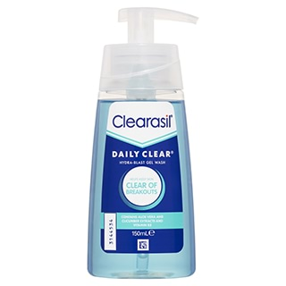 Image for Clearasil Daily Clear Oil Free Daily Gel Wash - 150mL from Amcal