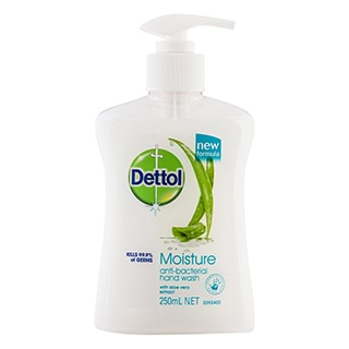 Image for Dettol Anti Bacterial Moisture Liquid Hand Wash Pump - 250mL from Amcal