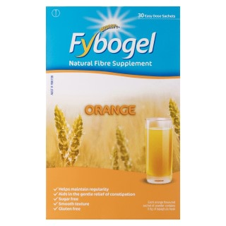 Image for Fybogel Natural Fibre Supplement Orange - 30 Pack from Amcal