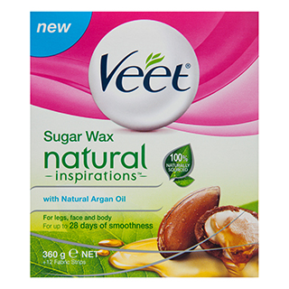Image for Veet Naturals Warm Wax - 360g from Amcal