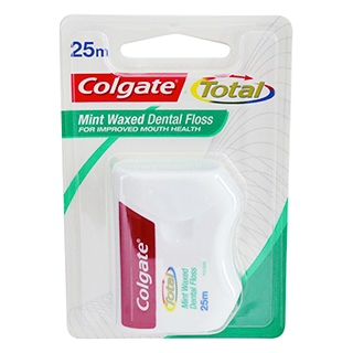 Image for Colgate Dental Floss Total - 25m from Amcal