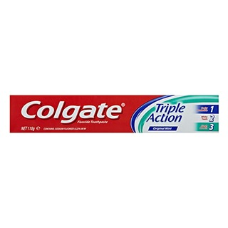Image for Colgate Toothpaste Triple Action - 110g from Amcal