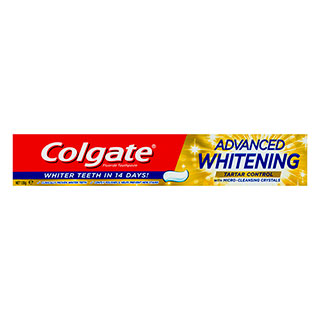 Image for Colgate Advanced Whitening Plus Tartar Control Toothpaste - 120g from Amcal